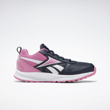 Girls Running Blue Reebok Almotio 5.0 Shoes