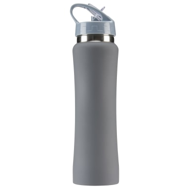 Training Grey Reebok Aluminum Water Bottle