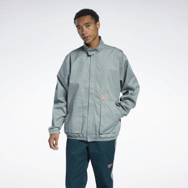 Men Classics Classics Washed Track Jacket