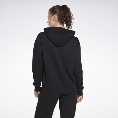 Women Fitness & Training Black Reebok Identity French Terry Hoodie