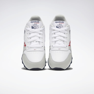 Boys Classics White Classic Leather