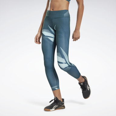 MYT AOP Tight Verde Mujer Fitness & Training