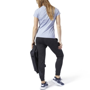 Women Fitness & Training Black Training Essentials Logo Pants