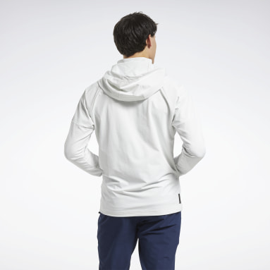 Men Studio Grey United By Fitness Control Hoodie