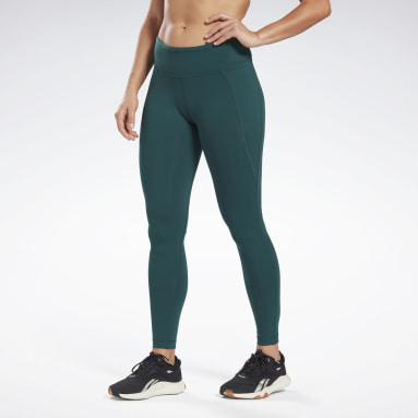 Women Training Green Lux Leggings
