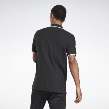 Mænd Fitness & Training Black Training Essentials Polo Shirt