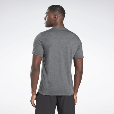 Camiseta Reebok Training Vector Gris Hombre Fitness & Training