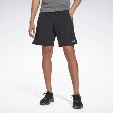 Men Running Black Speed Shorts