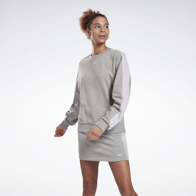 Women Training Grey MYT Crew Sweatshirt