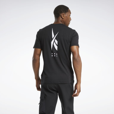 Men Training Black Edgeworks Graphic Tee