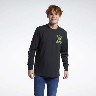Classics Black Ghostbusters Long-Sleeve Top