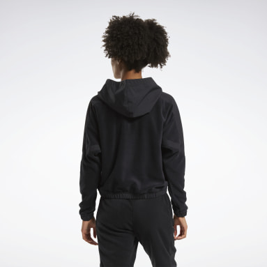 Women City Outdoor Black MYT Quarter-Zip Hoodie