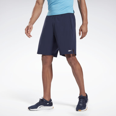 Men Cross Training Blue Speed Shorts
