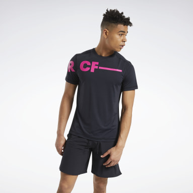 Herr Cross Training Svart RC ACTIVCHILL Tee