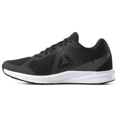 Men Running Black Reebok Endless Road Men's Running Shoes