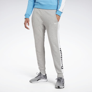 Pantalón de chándal Training Essentials Linear Logo Gris Hombre Fitness & Training