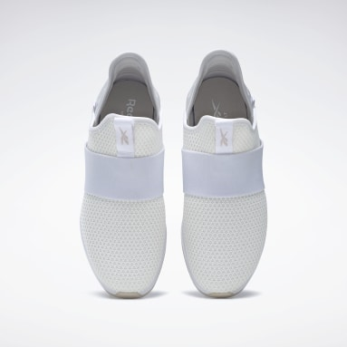 Women City Outdoor White Reebok Ever Road DMX Slip-On 4 Shoes