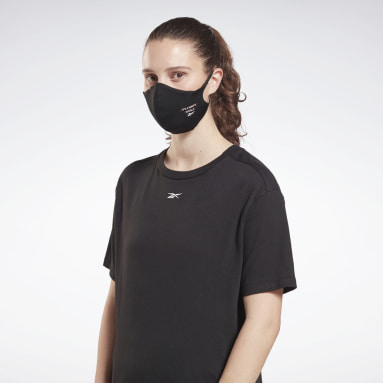 Reebok Face Cover con grafica It's a Man's World - M/L - Confezione da 3 Nero Fitness & Training