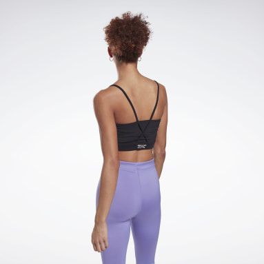Women Fitness & Training Black MYT Festival Bra