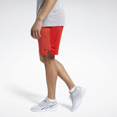 Men Training Red Workout Ready ACTIVCHILL Shorts