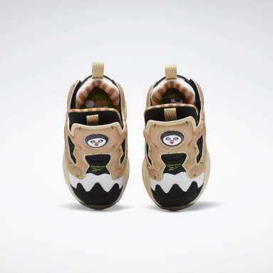 Kids Classics Black Kung Fu Panda Fury Shoes