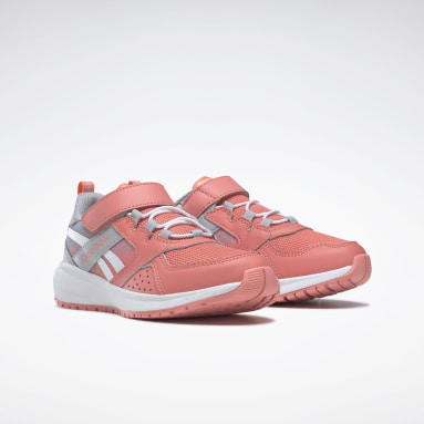 Girls Running Red Reebok Road Supreme 2 Alt Shoes - Preschool
