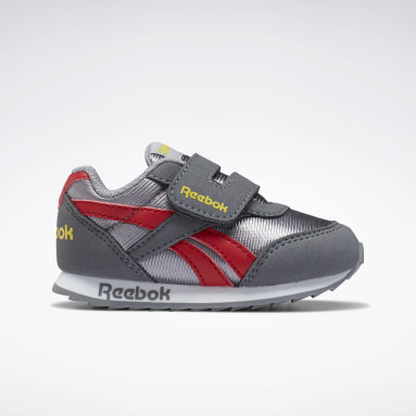 Boys Classics Grey Reebok Royal Classic Jogger 2 Shoes