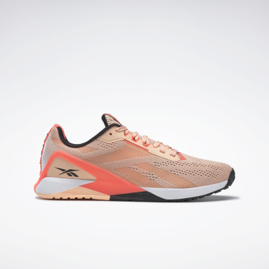 Women Training Orange Nano X1 Shoes