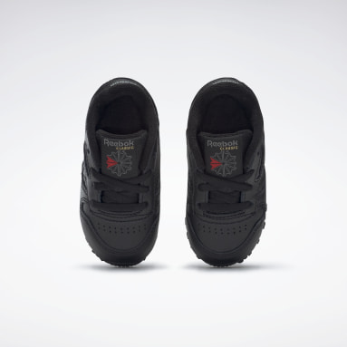 Boys Classics Black Classic Leather