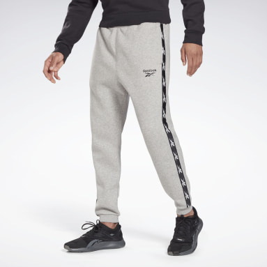 Männer Fitness & Training Training Essentials Tape Jogger Pants Grau