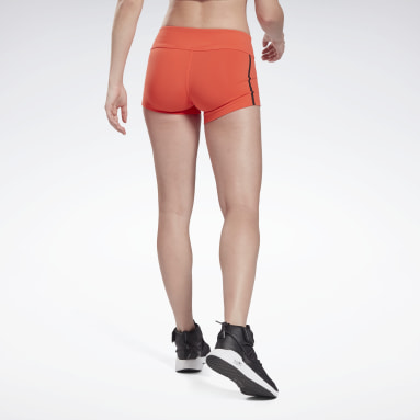 Women Cross Training Reebok Chase Solid Booty Shorts