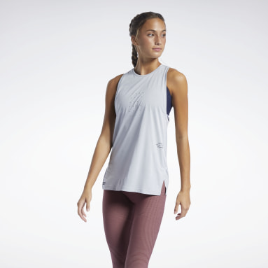 Women Studio Grey Les Mills® Knit Tank Top