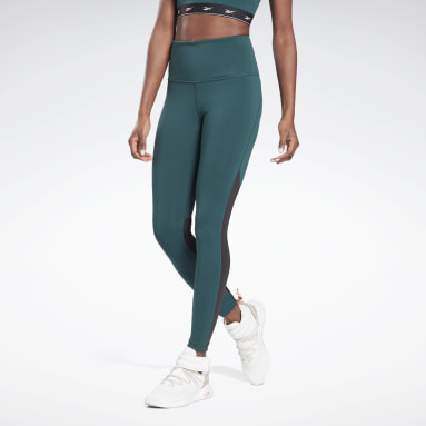 Women Cycling Green Beyond The Sweat Leggings