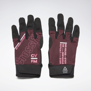 Women Cross Training Burgundy CrossFit® Training Gloves