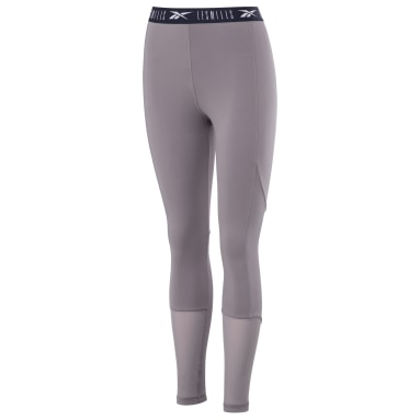 Women Studio Grey LM Vector Mesh Tight