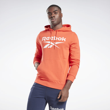 Men Fitness & Training Reebok Identity Big Logo Hoodie