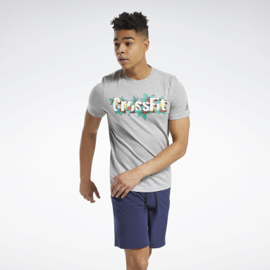 RC Holiday Tee Gris Hombre Cross Training