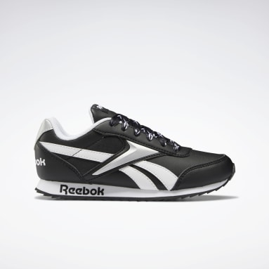 Boys Classics Black Reebok Royal Classic Jogger 2 Shoes
