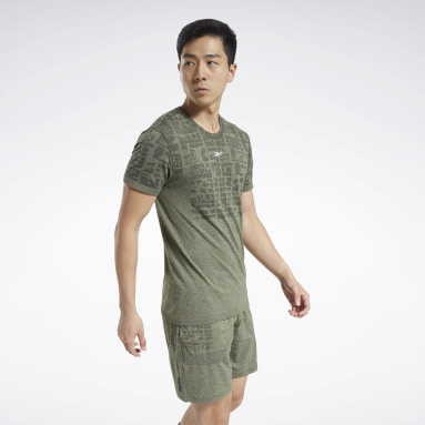 Men Training Green United By Fitness MyoKnit Tee