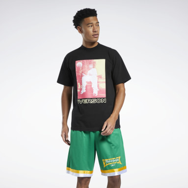 Men Classics Allen Iverson Hot Color T-Shirt