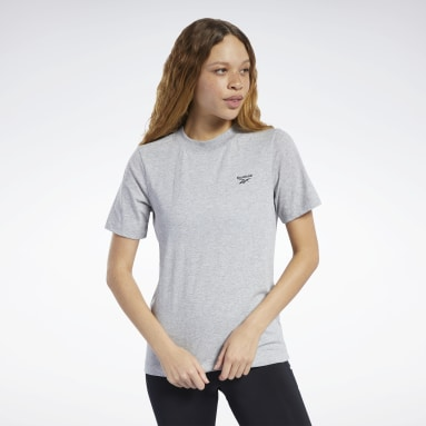 Women Yoga Grey Training Essentials Easy Tee