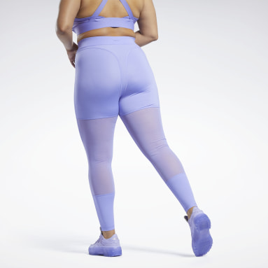 Women Classics Cardi B Mesh High-Rise Leggings (Plus Size)