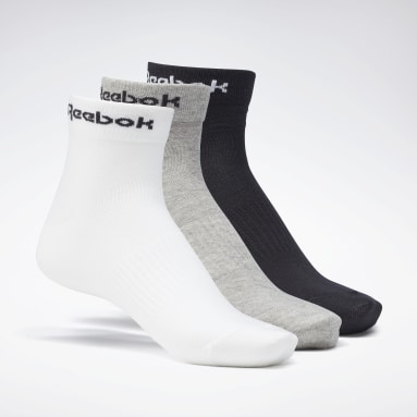 Running Grey Active Core Ankle Socks 3 Pairs
