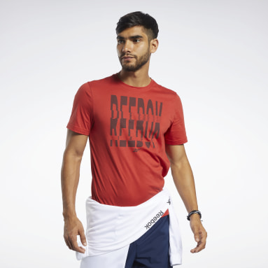 T-shirt à col rond Graphic Series Reebok 1895 Hommes Fitness & Training