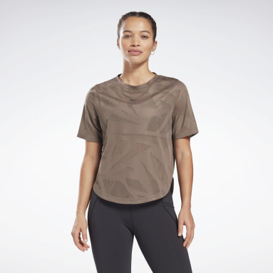 Camiseta Perforated Gris Mujer Senderismo