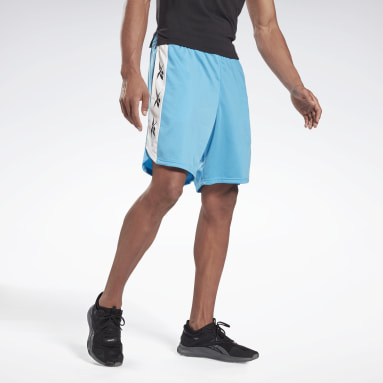 Men Fitness & Training Turquoise Training Essentials Vector Shorts