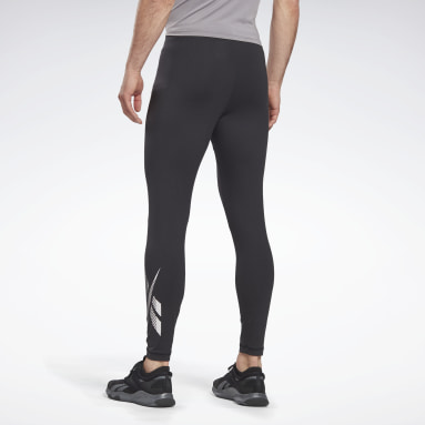 Men Hiking Black Thermowarm Touch Base Layer Bottoms