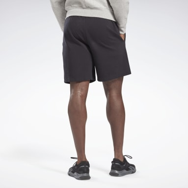 Men Fitness & Training Black DreamBlend Cotton Shorts