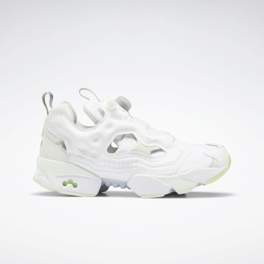 Classics White Instapump Fury OG Shoes
