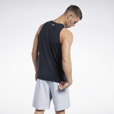 Men Studio Black LES MILLS® BODYPUMP® ACTIVCHILL Tank Top